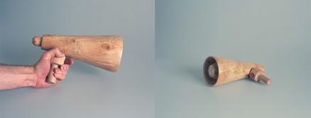 Miniphone - Wood, speaker